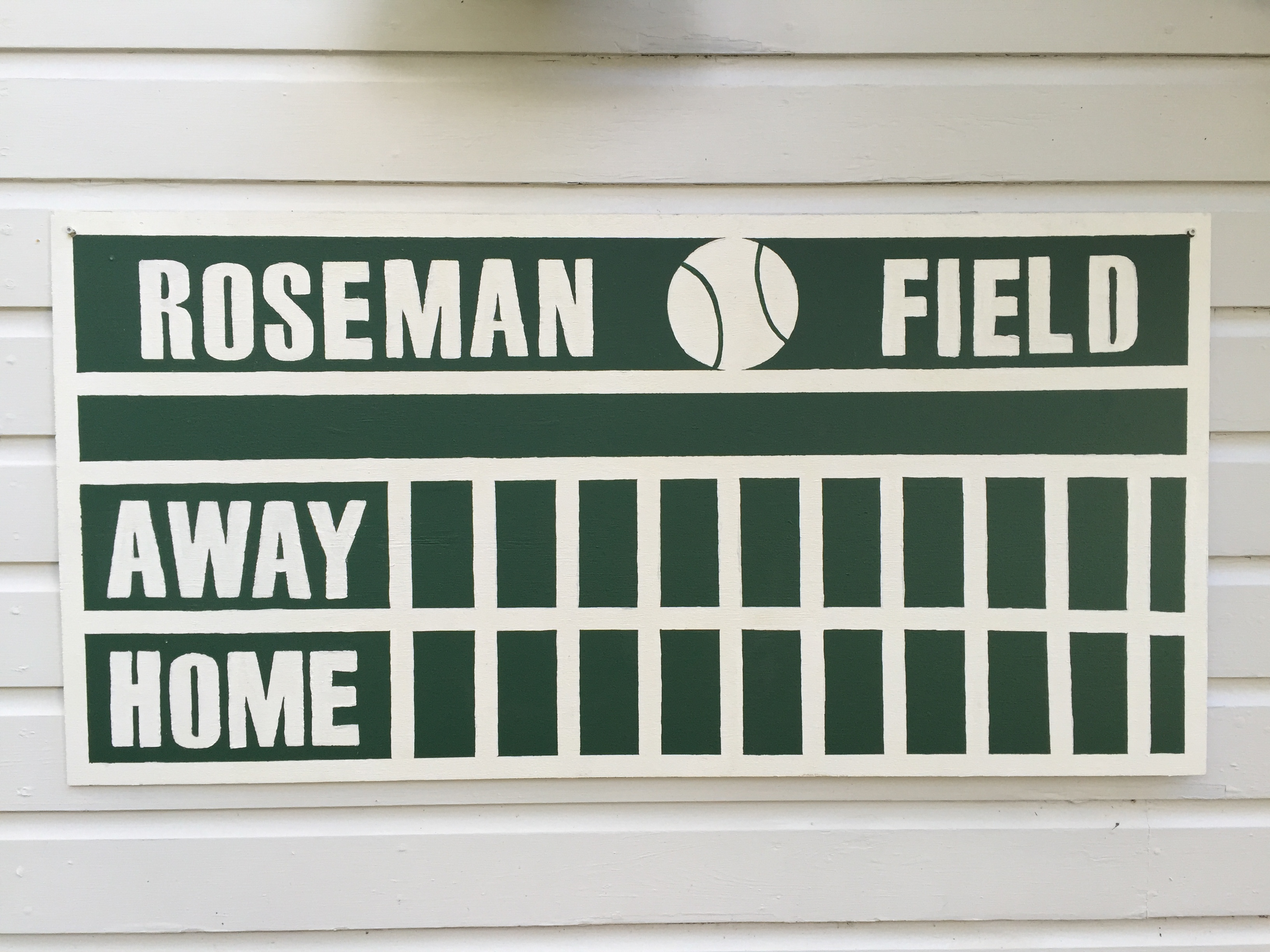 Baseball Scoreboard - Four Sided Design